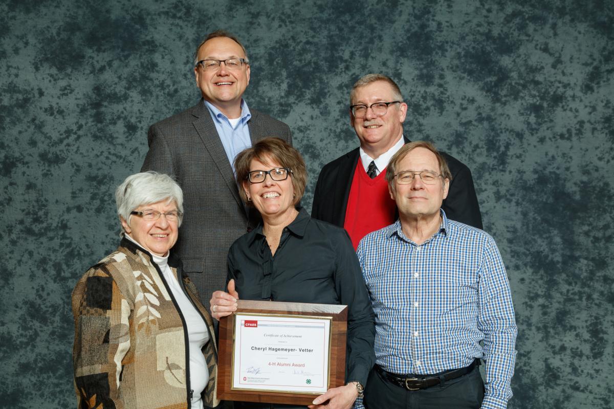 Cheryl Hagemeyer-Vetter, 2019 Ohio 4-H Alumni Award