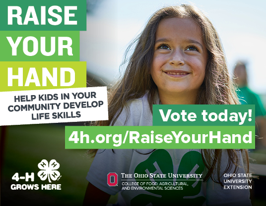Raise Your Hand for Ohio 4-H