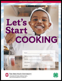 Let's Start Cooking project book cover