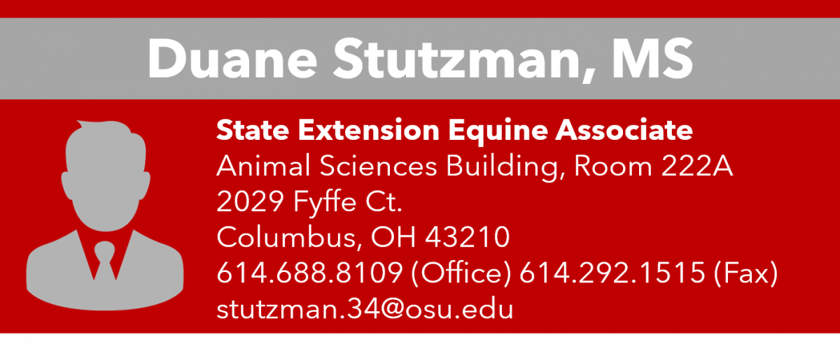 Duane Stutzman Contact Information