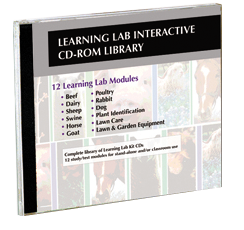 Learning Lab CD LIBRARY - image of case
