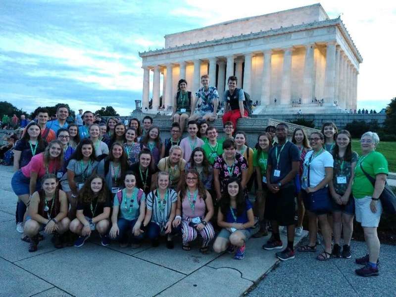 CWF programming includes tours of the monuments in Washington D.C.