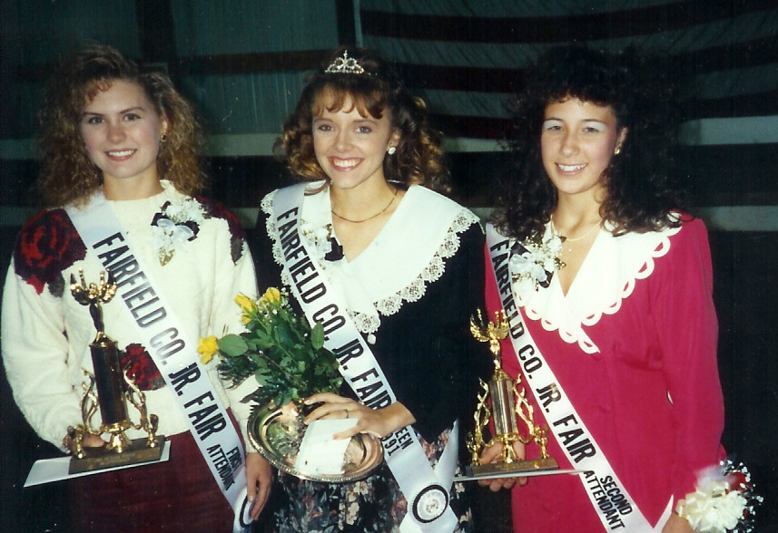 Angela Krile was the 1991 Fairfield County Junior Fair Queen.