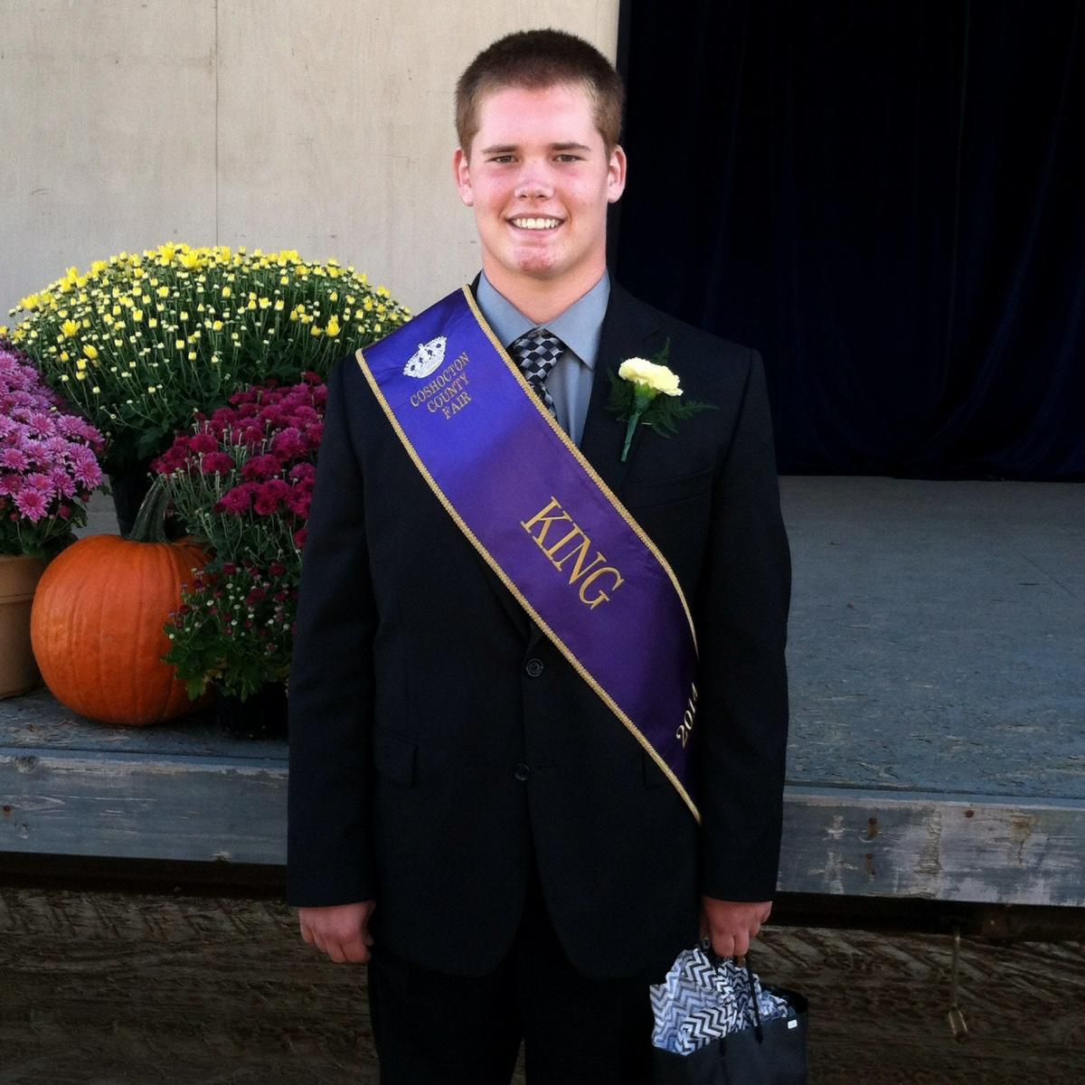 Joe was the 2014 Coshocton County Fair King.