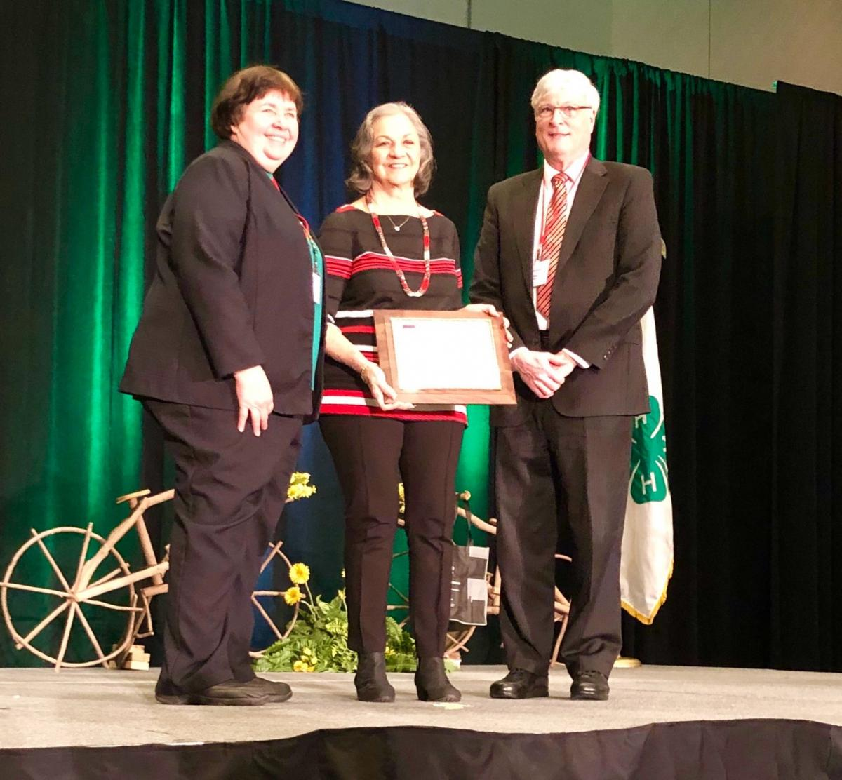 Pat received the Ohio Friend of 4-H award in 2019.
