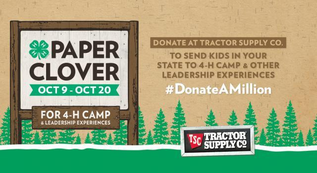 Tractor Supply Fall Paper Clover Drive