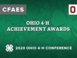 Ohio 4-H Achievement Awards