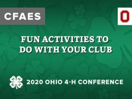 FUN Activities to do With Your Club