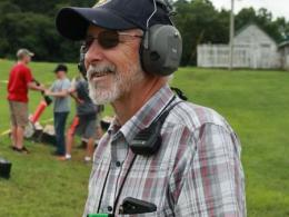 Head shot of Larry Harris, state 4-H shooting sports specialist