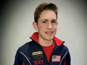 Johnathan Dorsten in his USA Junior Olympics jacket.