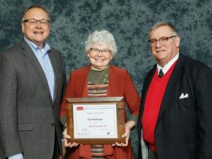 Pat received the Meritorious Service Award in 2019.