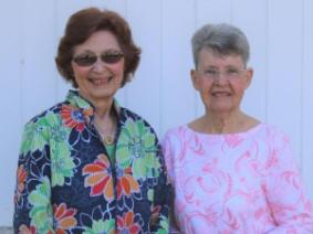 Barb Layfield and Janet Bates