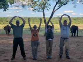 One of our 4-H educators found OSU and 4-H alumni while on a safari in Zimbabwe!